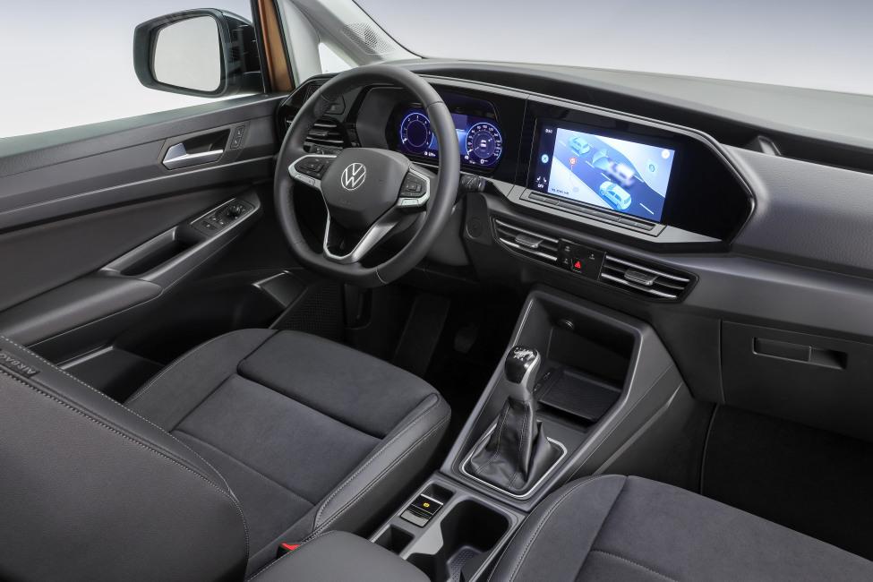 VW Caddy 2020 interieur (1)