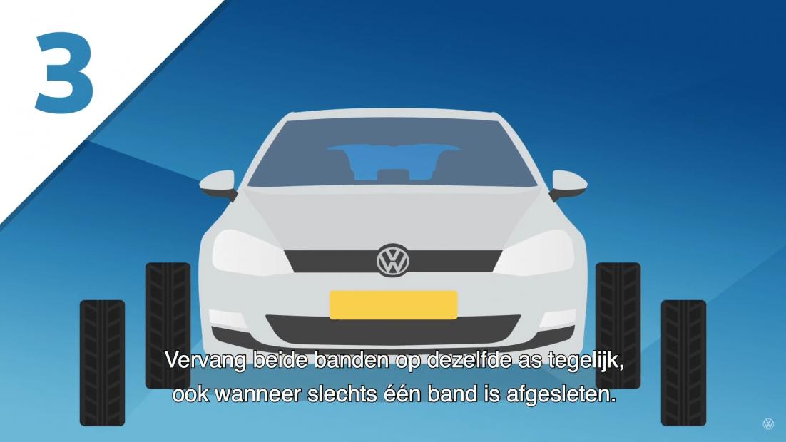 Volkswagen Bandentips