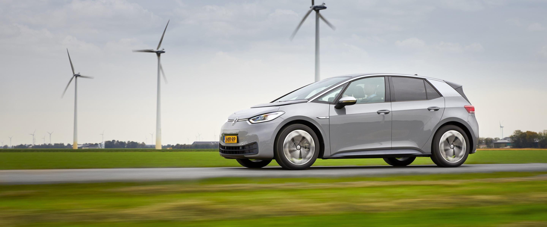 Volkswagen ID.3: tot € 4.000 bijtelling-voordeel in 2020