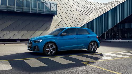 Audi A1 Turboblauw