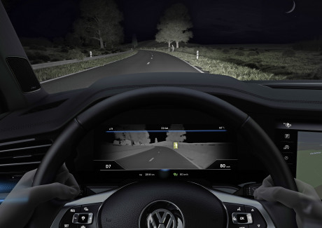 VW Touareg Night Vision