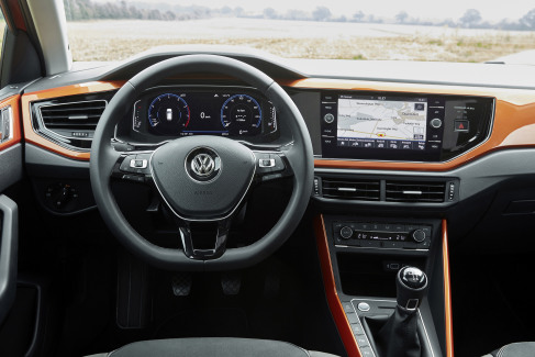Volkswagen Polo interieur