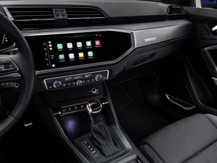 Audi Q3 middenconsole