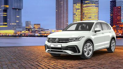 Volkswagen Tiguan acties Card