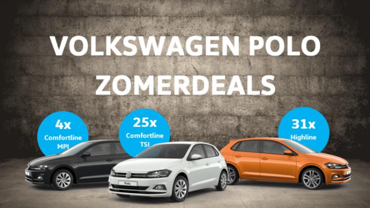 Volkswagen Polo Zomerdeals banner