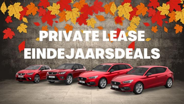 Private Lease eindejaarsdeals SEAT