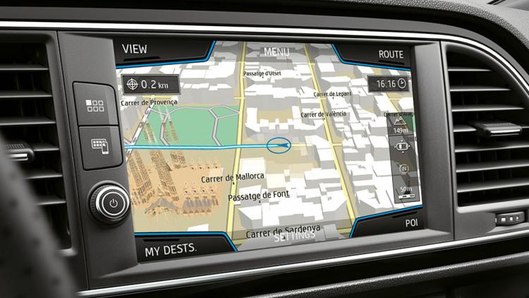 Navigatie-update-seat