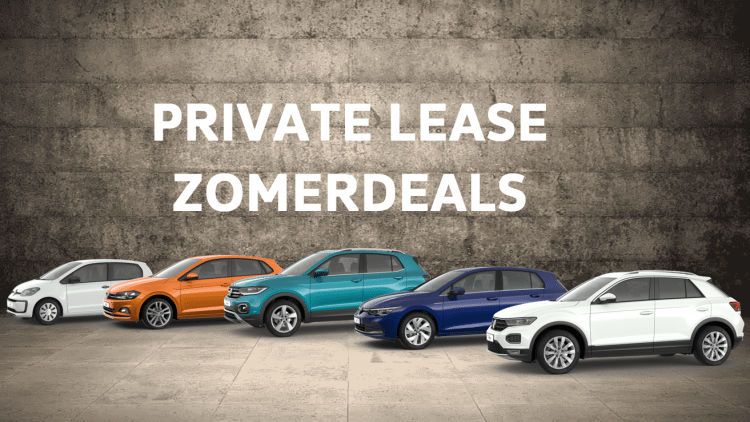 Private Lease zomerdeals card