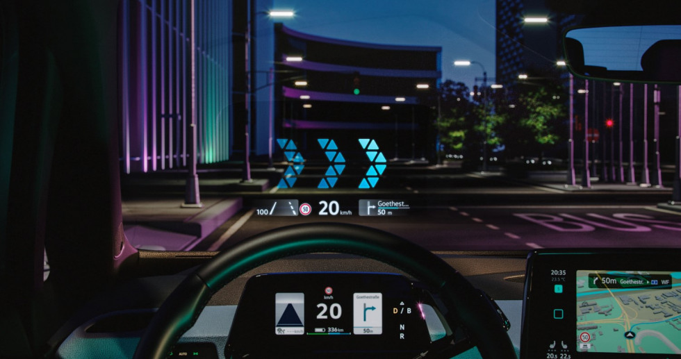 VW ID.3 Head up display