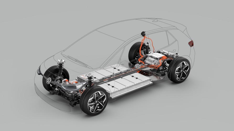 Volkswagen ID.3 MEB platform