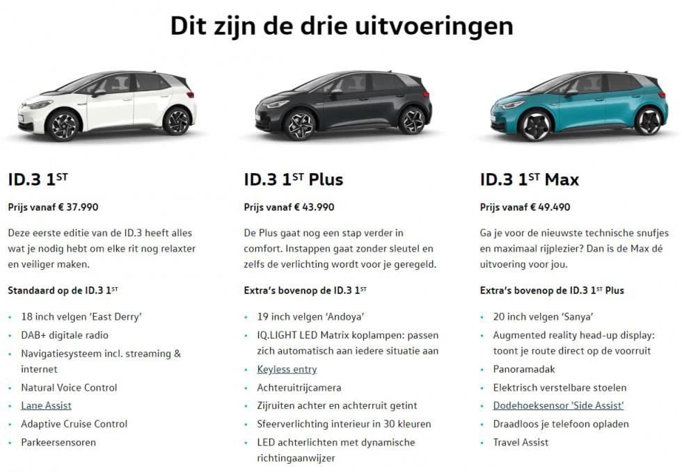 volkswagen-id-3-1st-uitvoeringen test