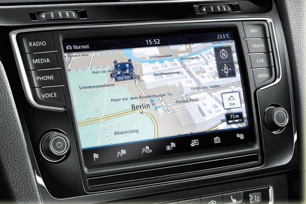 Volkswagen Discover navigatiesystemen